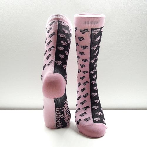 ketterechts Radsocken pink