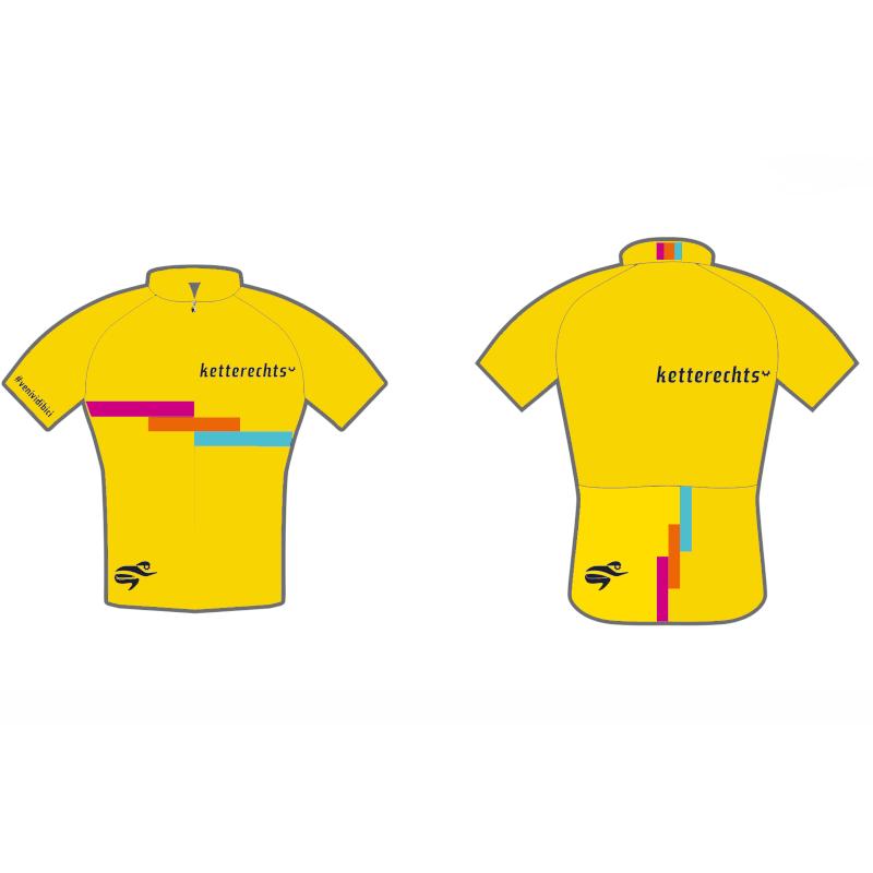 ketterechts Radtrikot passione colorata yellow