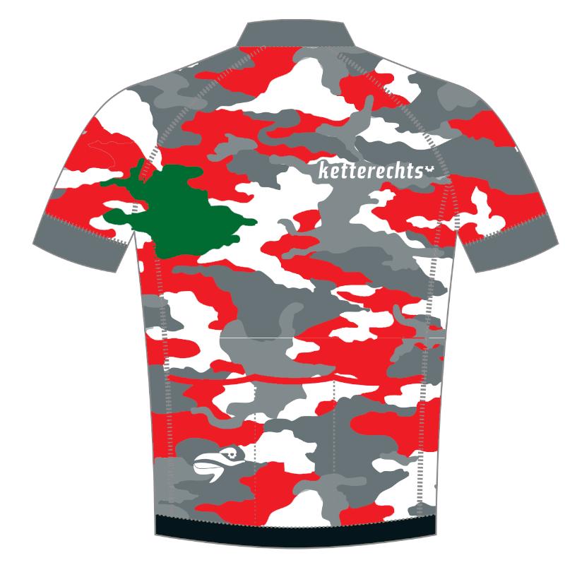 ketterechts Radtrikot Camouflage
