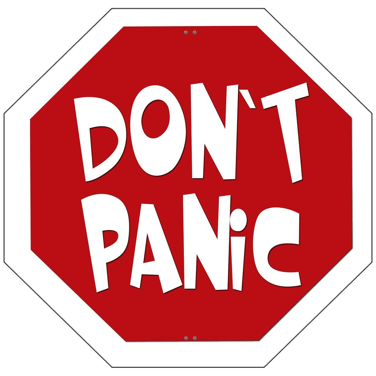 Keine Panik, wenn andere Trainieren