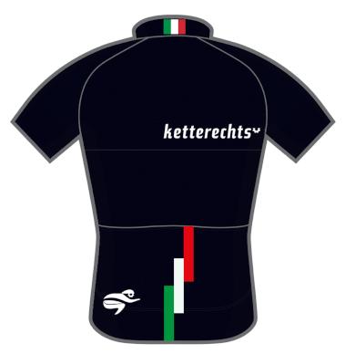 ketterechts Radtrikot black