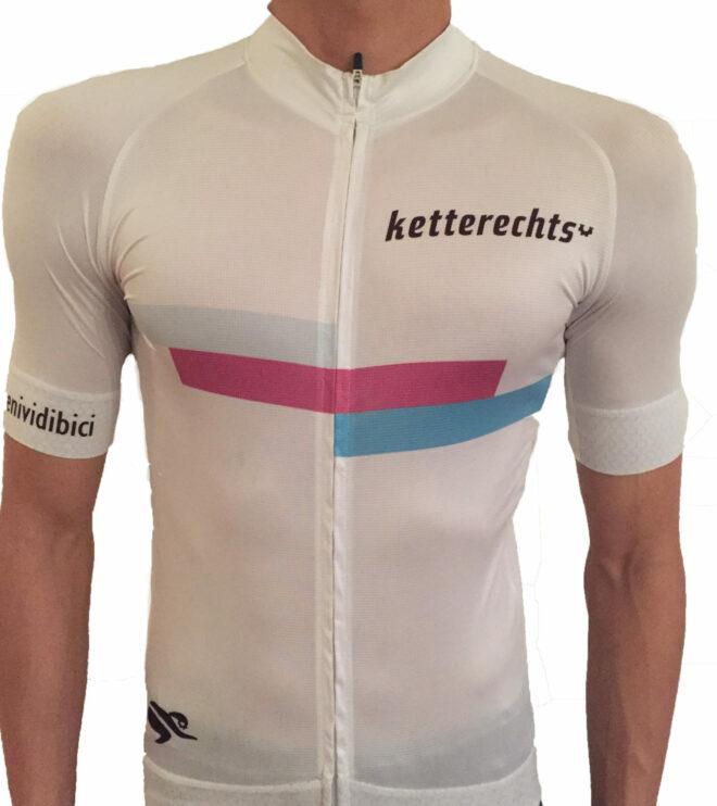 ketterechts Radtrikot white