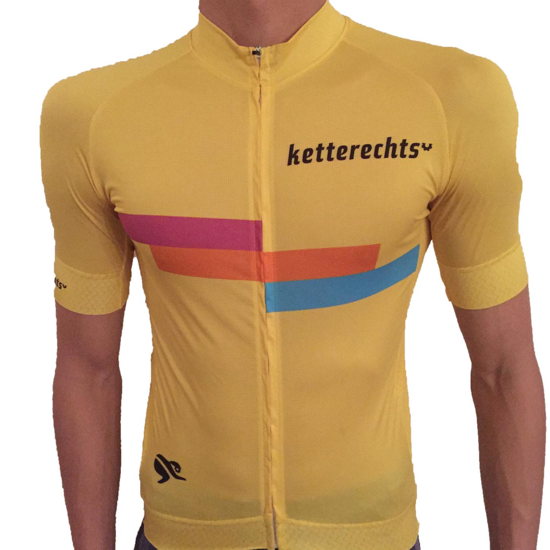 ketterechts Radtrikot yellow
