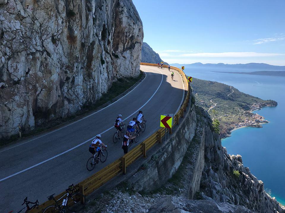 Rennrad fahren in Dalmatien