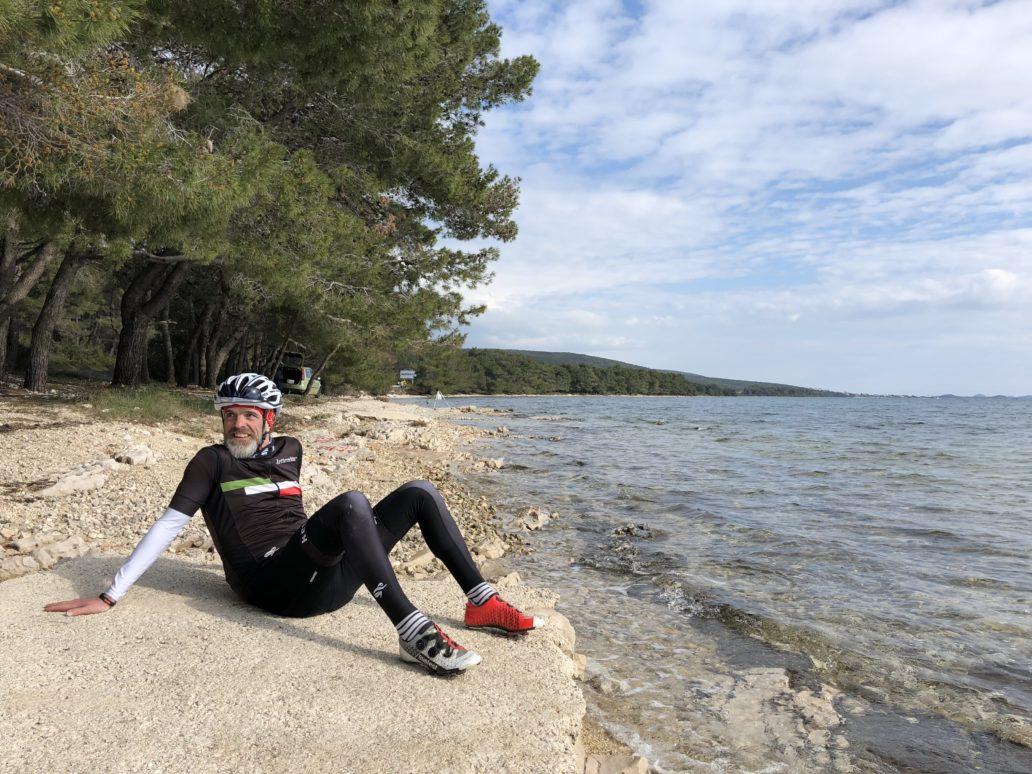Rennradreise nach Zadar.