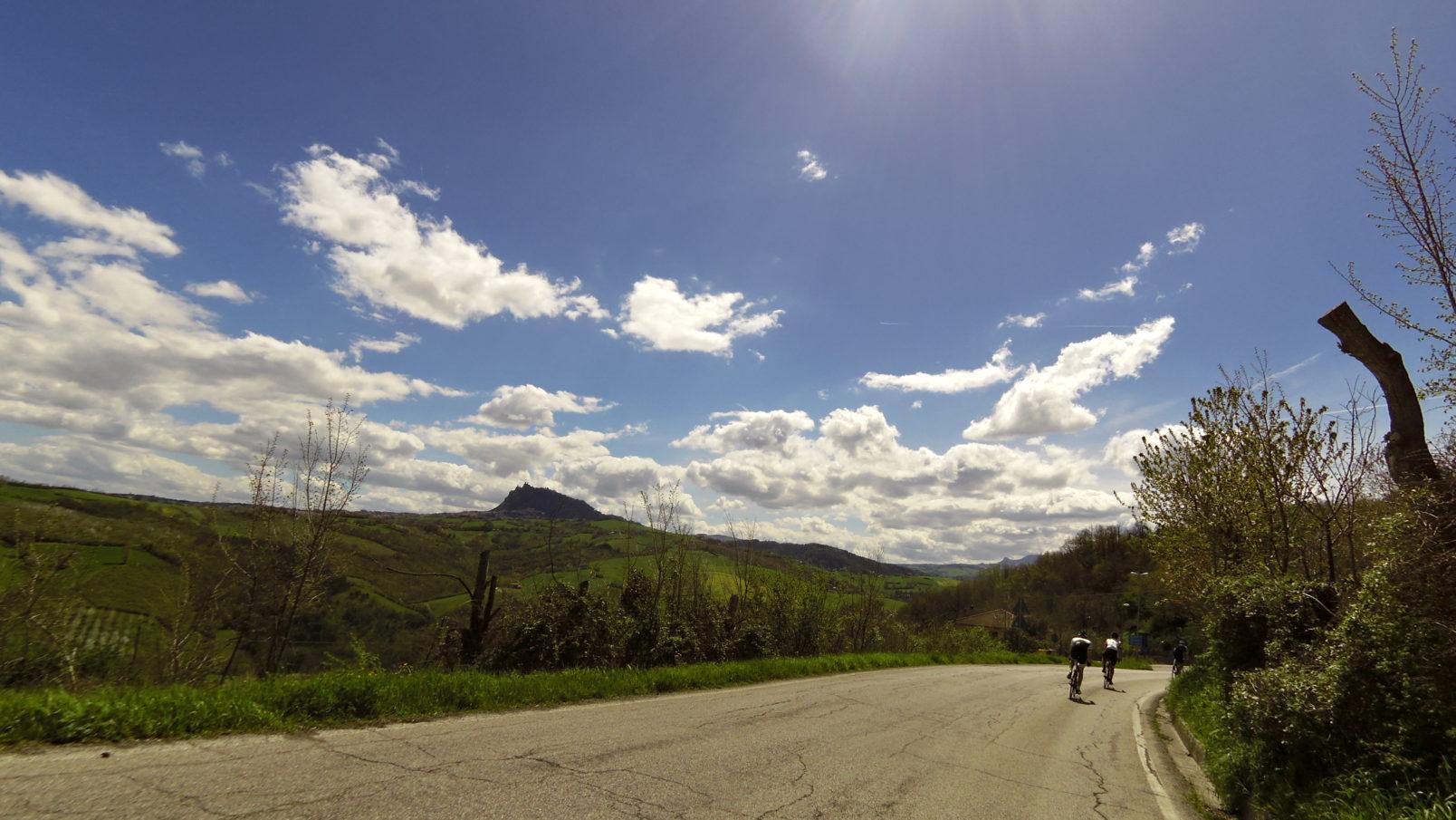 Rennradfahren in der Emilia Romagna