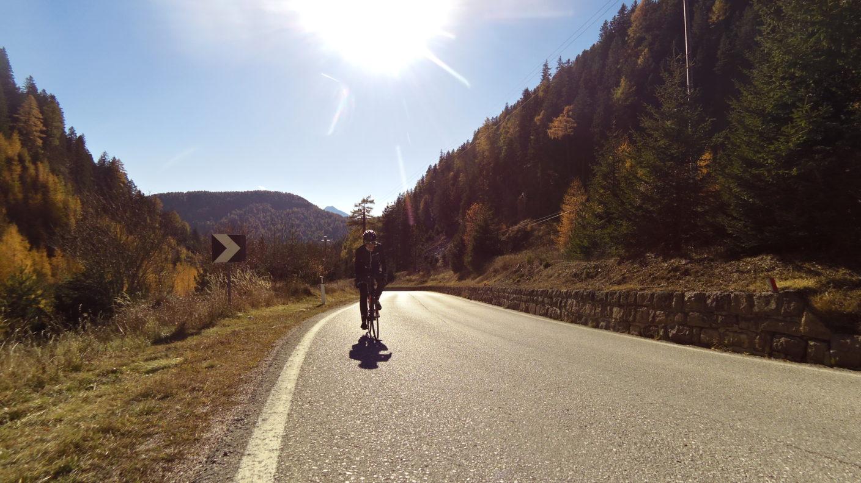 Rennradreise nach Südtirol. Wein und Kastanien.