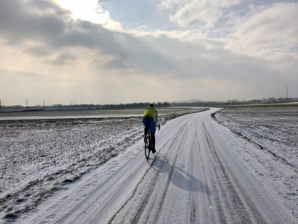Winterliche Rennradreise