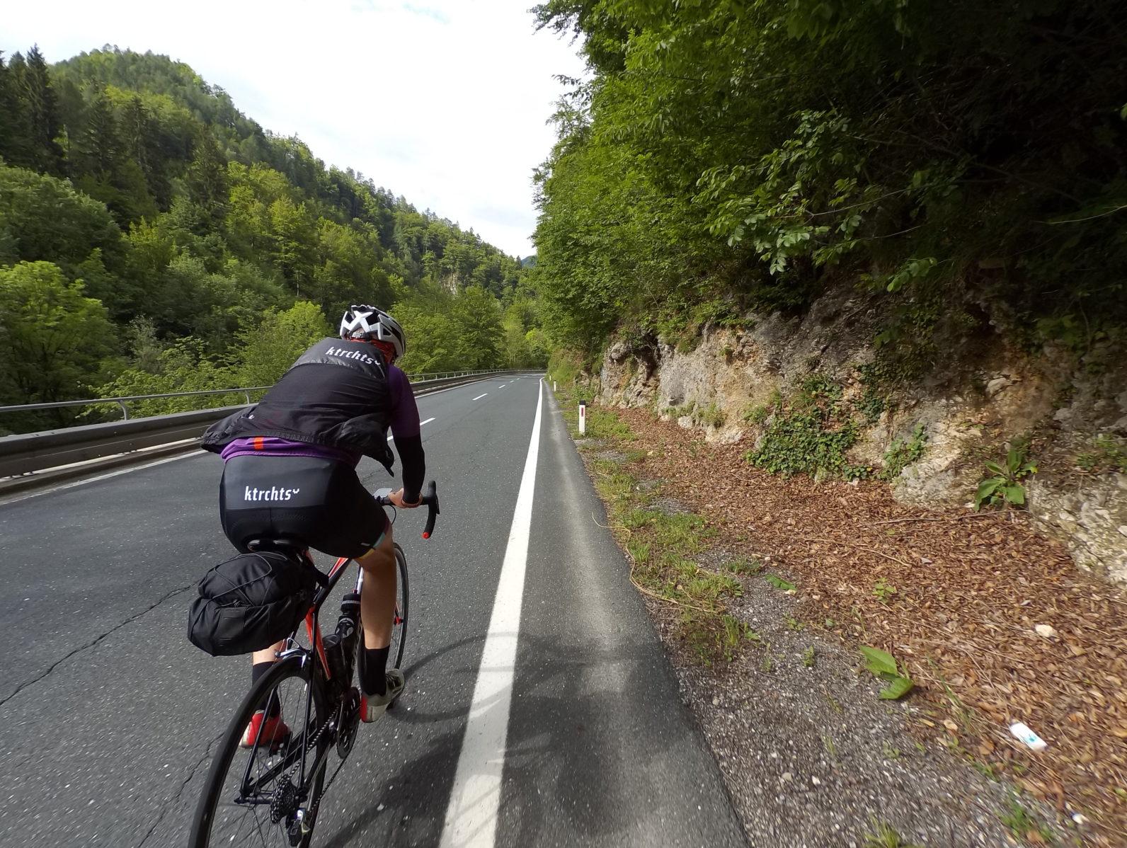 Bikepacking - mit dem Rennrad Urlaub machen