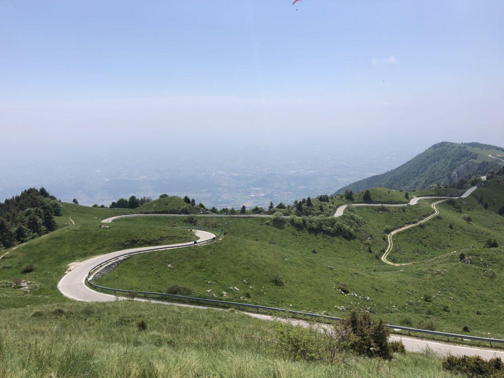 Rennradfahren am Monte Grappa