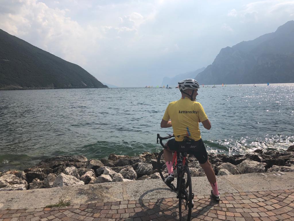 Rennradfahren am Gardasee