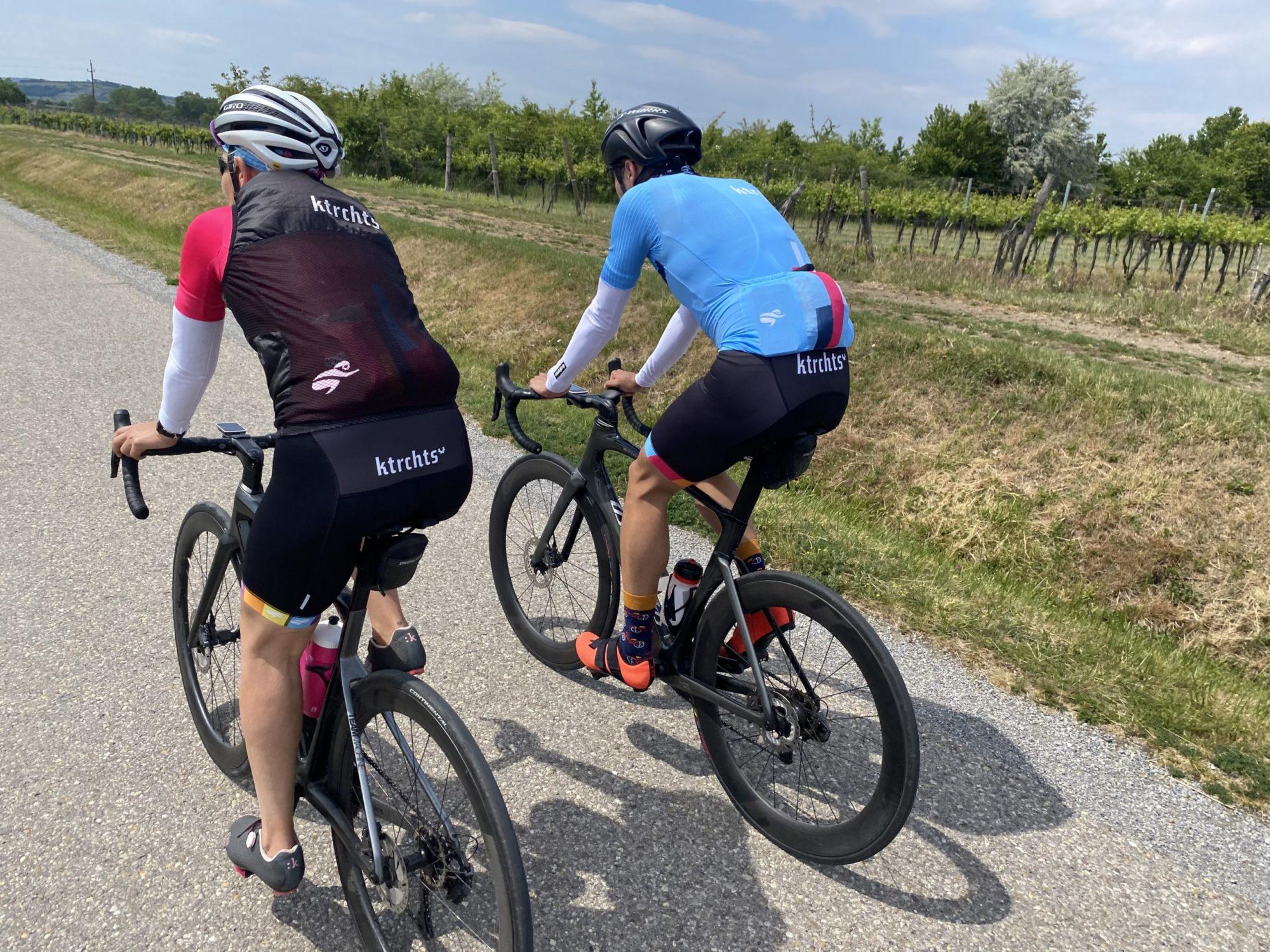 Sicheres Rennradfahren in der Gruppe