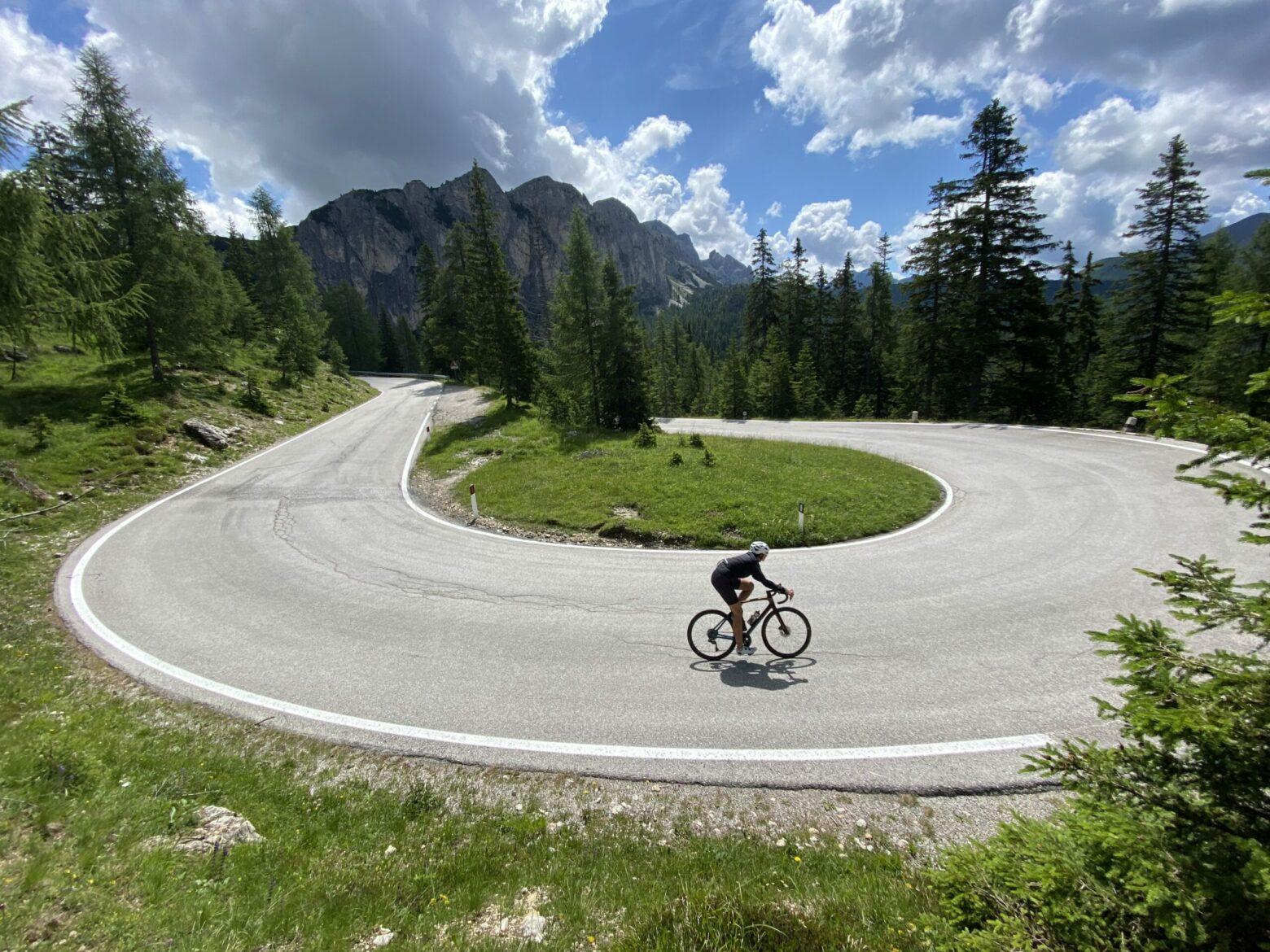 Rennradreise in die Dolomiten